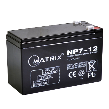 Accu Battery Matrix NP7-12